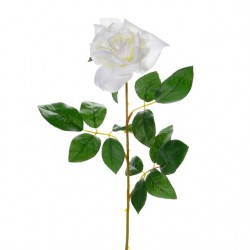 artificial flower white