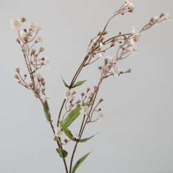 faux gypsophila mono bouquet